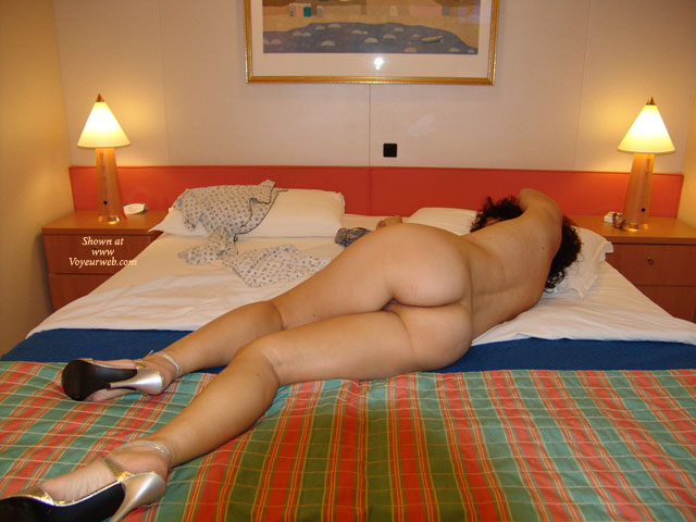 Room hotel ass nude have