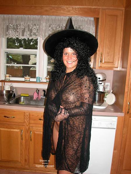 Pic #1 - Belle The Kinky Halloween Witch