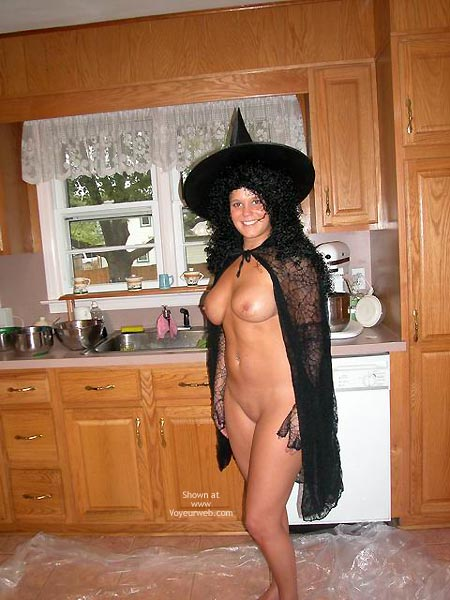 Pic #2 - Belle The Kinky Halloween Witch
