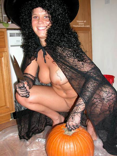 Pic #4 - Belle The Kinky Halloween Witch