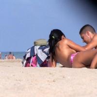 Cutee On The Beach