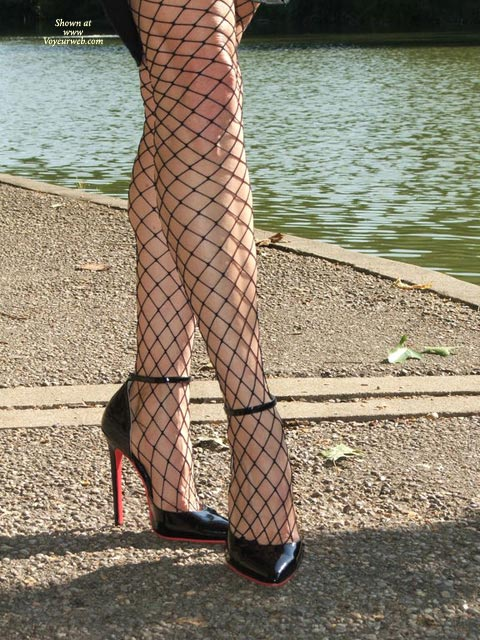 Pic #1 - Sexy High Heels - Heels, Long Legs, Sexy Feet, Sexy Legs, Sexy Shoes , High Heels And Fishnet Stockings, Arched Feet, Shiny Leather High Heels, Fishnet Legs And Sexy Stilettoes, Legs Outside, Sexy Lingerie, Fishnet Stockings, Fishnets By The Lake