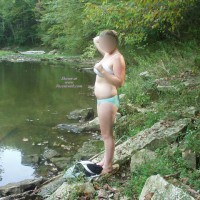 Cooling Off In The Creek