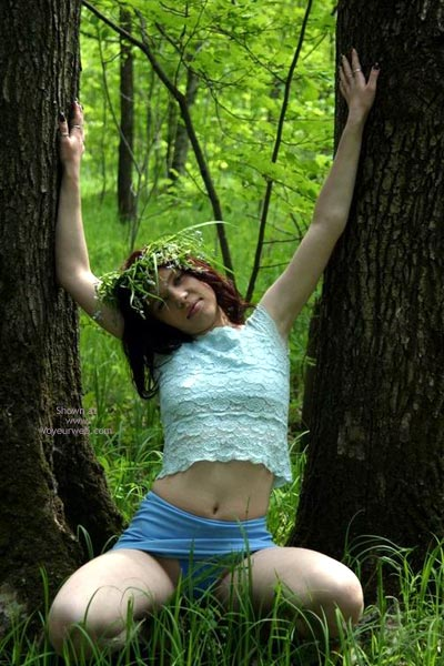 Pic #1 - Tresha In Forest