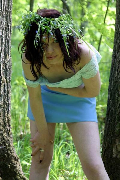 Pic #5 - Tresha In Forest