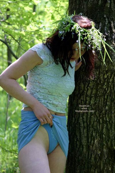Pic #6 - Tresha In Forest