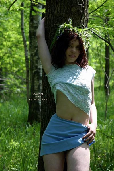 Pic #7 - Tresha In Forest