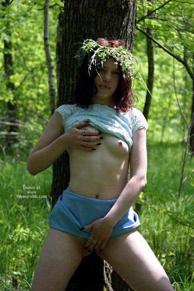 Pic #10 - Tresha In Forest