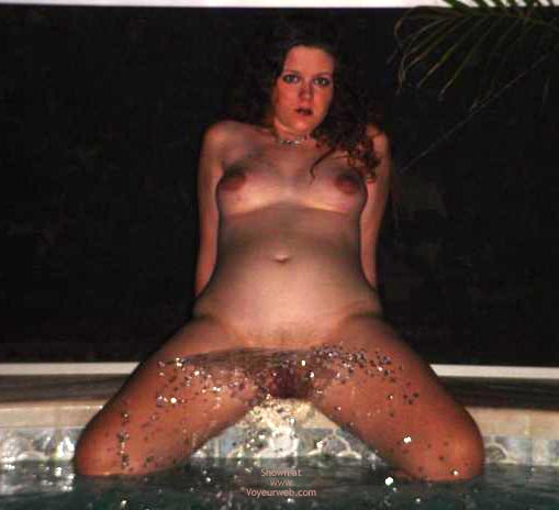 Pic #1 - Preggo Fairy Getting Wet!