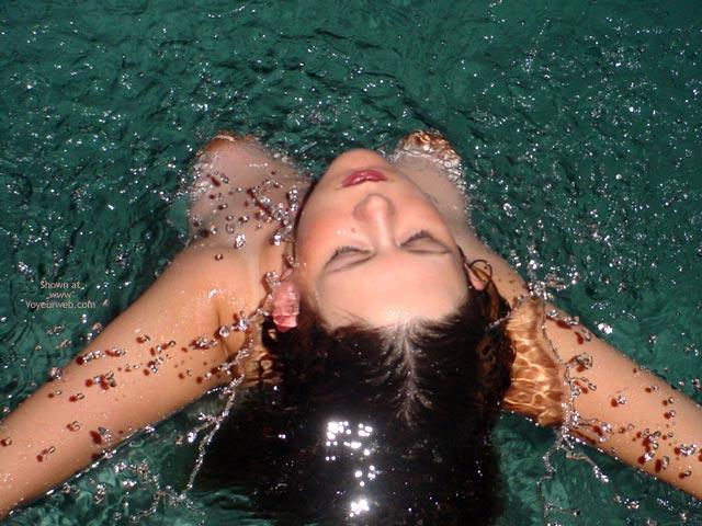 Pic #6 - Preggo Fairy Getting Wet!
