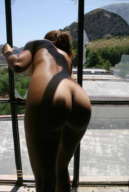 Pic #1 - Nude Tan Girl Looking Through Broken Window - Naked Girl, Nude Amateur , Butt Through Bars, Nice Tanned Ass Bent Over, Peeping Out Of Shattered Windowpane, In Front Of Window, Nude Backside, Tanned Ass, All Nude, Nude Leaning Out A Broken Window, Curvaceous Buttocks, Bent Over With Ass Out, Nice Shapely Ass, Great Ass, Broken Window