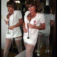 Mirrors Of Horny Nurse