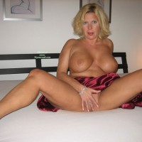 Seasoned MILF With Huge Tits - Big Tits, Blonde Hair, Huge Tits, Milf, Spread Legs