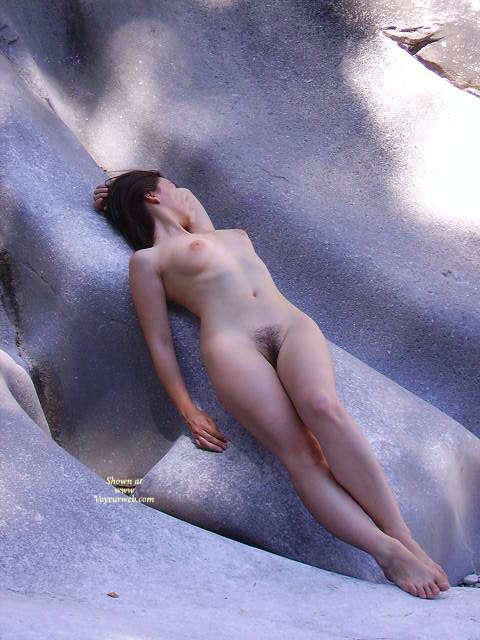 Pic #1 - Classic Erotic Sculpture - Brunette Hair, Naked Girl, Nude Amateur , Retro Bush, Nude Woman Lying On Smooth Rocks Great Bush, Looking Away, Curvy Slim Slim Body, Full Breasts, Laying On Back, On The Rock Nude, Amazing Perfect Body, Both Scuplted By Nature, Naked On The Rocks, Smooth Curves Like The Rock, Brunette On The Rocks, Artistic Lying Back On The Rocks, Left Arm Behind Head