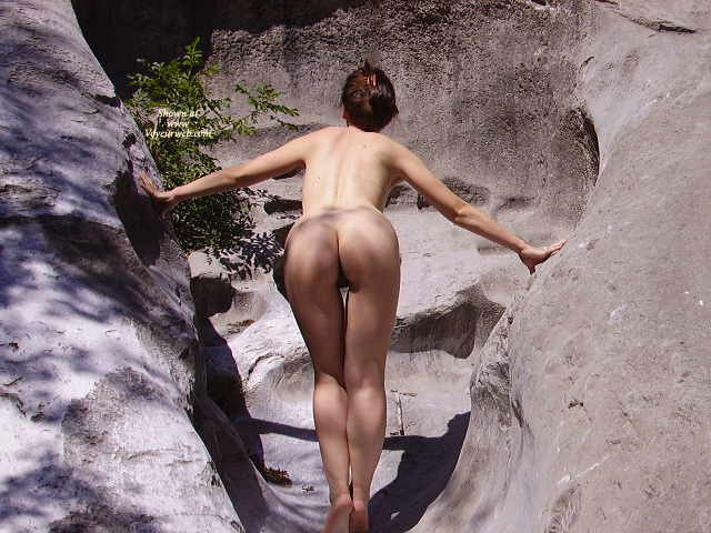 00000ABB climbing nude So here it is an amateur anal shot of her. They were at they parents house, ...