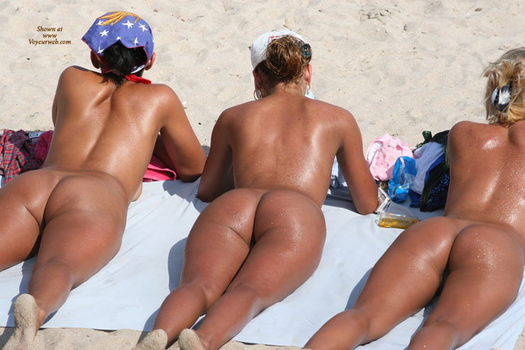 Three Nude Girls On A Beach Sunbathing Their Asses - Nude Beach, Beach Voyeur, Naked Girl, Nude Amateur, Sexy Ass , Naked Girls Sunbathing On Beach, Naked Exposed In Public On Beach, Three Lovely Assess, Three Naked Girls With Suntan Oil Laying On The Beach, Asses Up, Spankable Butts, Tanned Skin Oily From Sun Protection, Lying On The Beach, Nude Sunbathing
