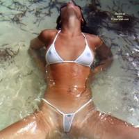 Sexy Bikini - Shaved Pussy, Small Tits, Spread Legs