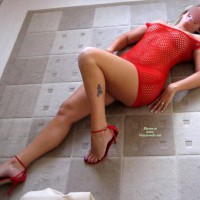One Hot Mama In Red - Part 3