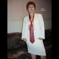 Business-Lady First Time Naked