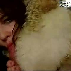 Tattooed Helen's Fur Fetish Bj & Squirty Sex