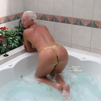 Wife in Jacuzzi