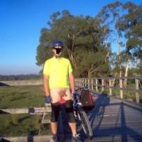 M* Nude Cyclist