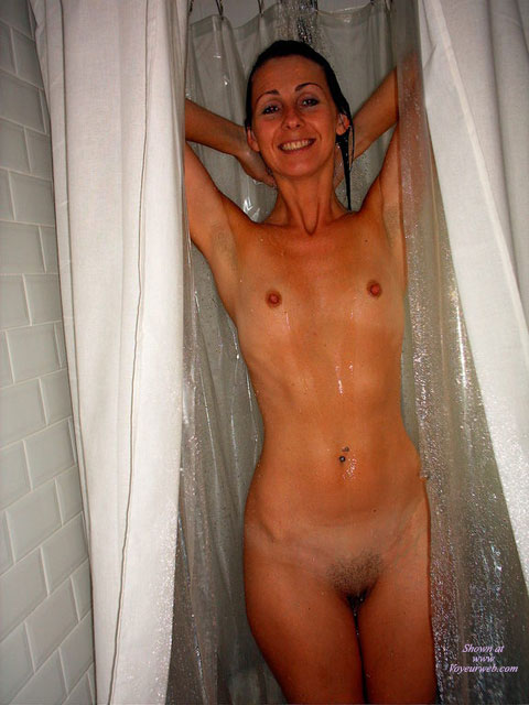Pic #1 - Very Small Tits - Erect Nipples, Small Tits, Naked Girl, Nude Amateur , Skinny Small Tits, Refreshing Smile, Skinny Girl, Naked In The Shower, Standing Nude, Underarm Stubble, Standing In Shower, Pubic Hair