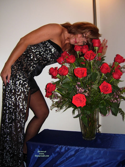 Pic #1 - *pu With Roses , Which One Of My Friends Sent Me The Roses?<br />Thanks For All The Sweet Comments To Last Posting.<br />The People With Ugly Comments Should Search For <br />pics Someplace Else. <br />