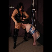 Naughty Nikki Trains A New Slave