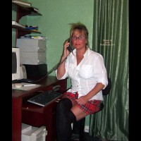 Charity Plays Naughty Secretary