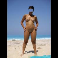 Cristina Relax On The Beach!