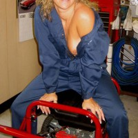 One Hot Mama In The Garage-part 3