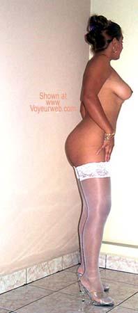 Pic #6 - Noella in Stockings!