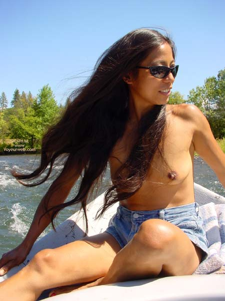 Pic #5 - Lai Fong Hard Nipples? The River