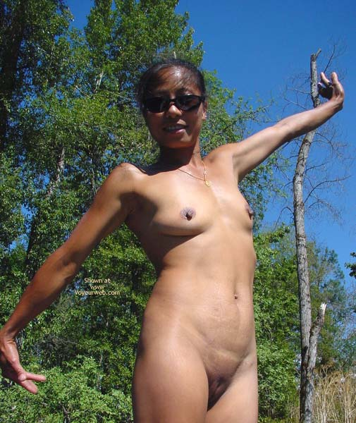 Pic #9 - Lai Fong Hard Nipples? The River