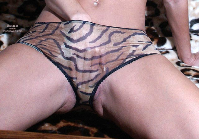 Pic #4 - Ha Chanel Hand In Tiger Panties