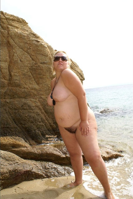 Pic #1 - Greek Anna Nude At The Beach Part-iii , AND THE THIRD PART. HOPE YOU LIKE THEM... WANT TO SEE MORE?