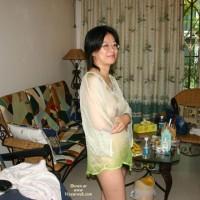 Chinese Mature Wife Shows Off At Hong Kong