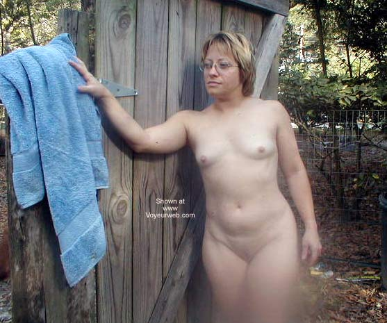 Pic #7 - Wife Outside