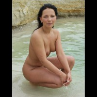 Naked Sweety On Lakeside