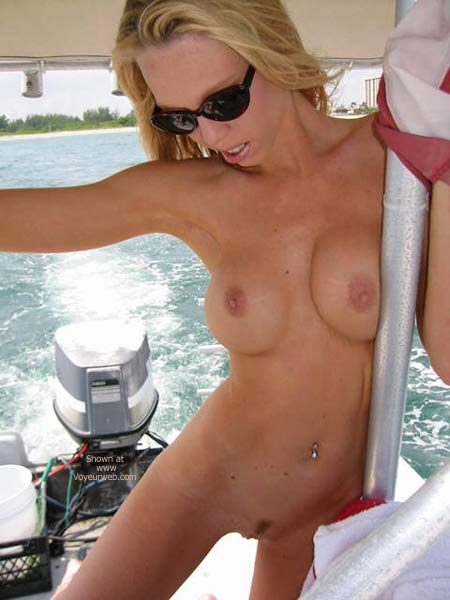 Pic #9 - Capt. Cassie Takes The Helm!