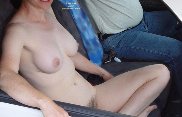 Pic #2 - Bubbles, From The Trucker'S Point Of View.