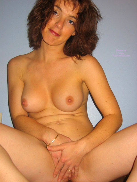 Pic #1 - Nude Milf - Brown Hair, Milf, Naked Girl, Nude Amateur , Faint Tanlines On Breasts, Girl Sitting, Medium Brown Hair, Innocent Look, Hands Over Pussy, Fingers On Pussy, Sexy Hands On Pussy, Hiding With Hands, Spreading Legs, Squating Nude Redhead Covering Puss