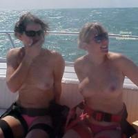 Couple Parasail Girls