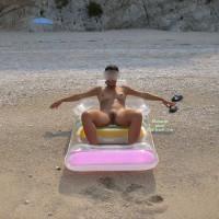 Cristina Have Fun On The Beach!