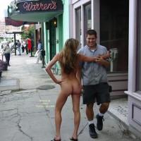 Naked On Public Street