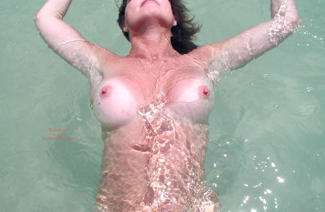 Pic #1 - Sexy Sandy Floating Away
