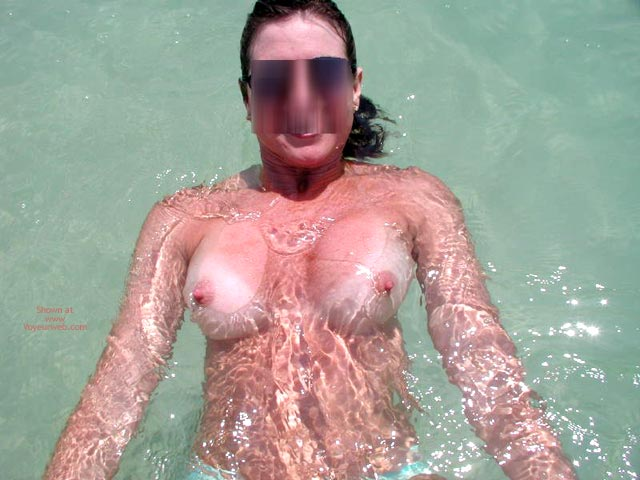 Pic #2 - Sexy Sandy Floating Away