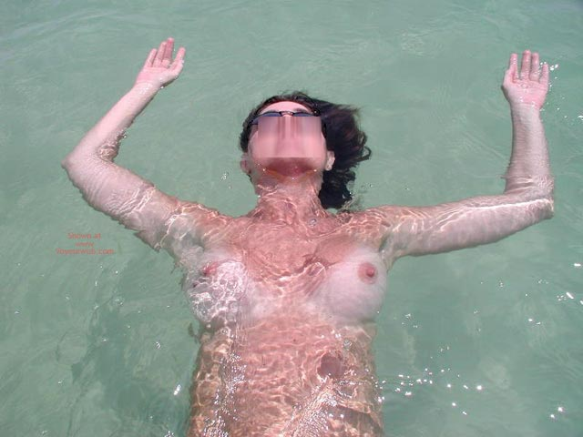 Pic #3 - Sexy Sandy Floating Away
