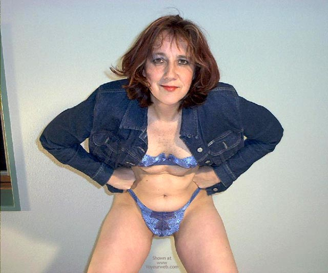 Pic #7 - My Blue Lingerie Series